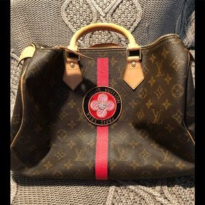 Authentic Louis Vuitton Mon Monogram 35 Speedy